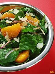 Spinach Avocado Orange Salad